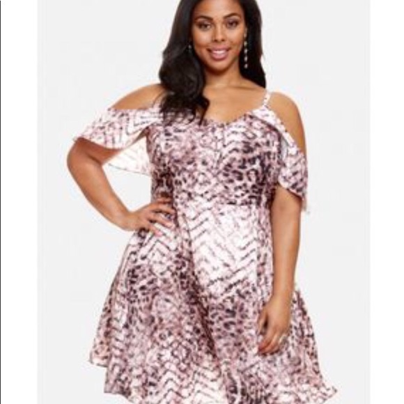 Fashion To Figure Dresses Leopard Print Dress Plus Size 1 Poshmark